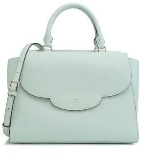Kate Spade Makayla Leewood Place Textured-Leather Shoulder Bag