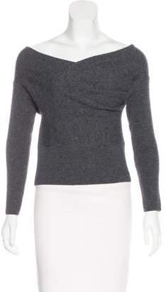 Michelle Mason Crosswrap Merino Wool Sweater