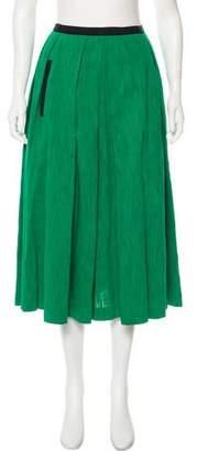 Martin Grant Midi A-Line Skirt
