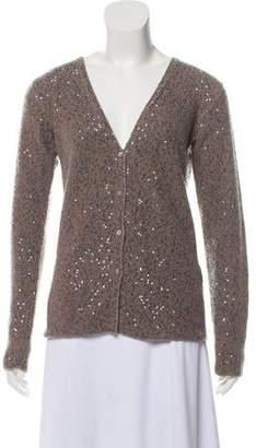Loro Piana Cashmere Embellished Cardigan