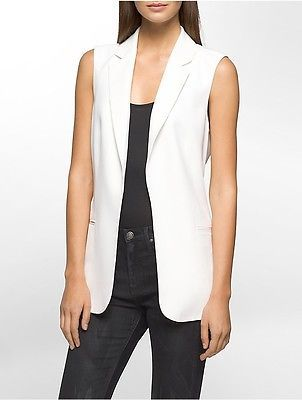 Calvin KleinCalvin Klein Womens Soft Suit Open Vest