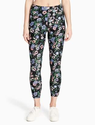 Calvin Klein printed high waist compression leggings