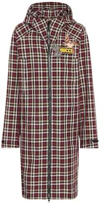 Gucci Plaid coat