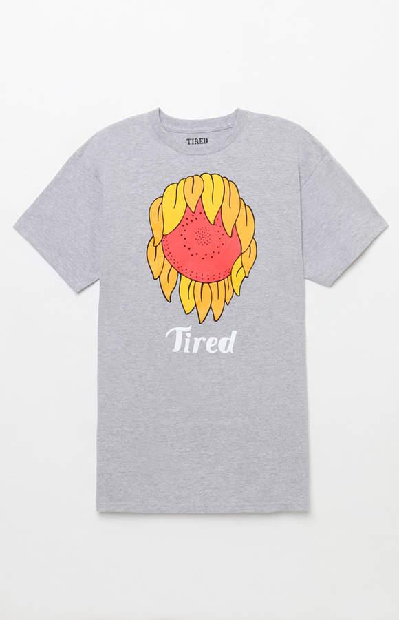 Tired Sunflower Mark T-Shirt
