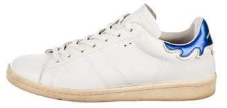 Etoile Isabel Marant Round-Toe Low-Top Sneakers