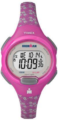 Timex Women's Ironman Essential 10-Lap Digital Chronograph Watch $49.95 thestylecure.com