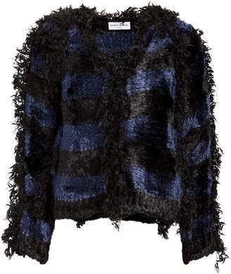 Sonia Rykiel Stripe Nubby Jacket