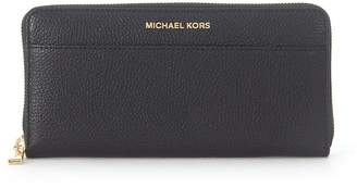Michael Kors Mercer Black Saffiano Leather Wallet