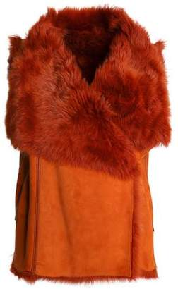 Yves Salomon Meteo By Reversible Shearling Vest