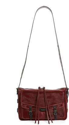 Rag & Bone Field Leather & Genuine Calf Hair Messenger Bag