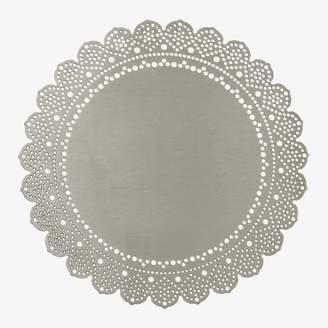 ABC Home Lace Doily Coaster Silver