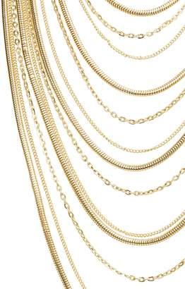 Stella + Ruby Multistrand Chain Necklace