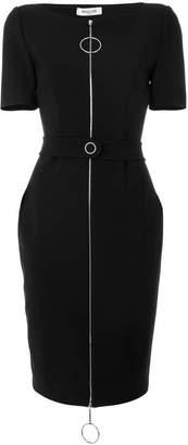 Thierry Mugler front zip dress