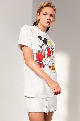FILA + UO Mickey + Minnie Short Sleeve Disney Tee $39 thestylecure.com