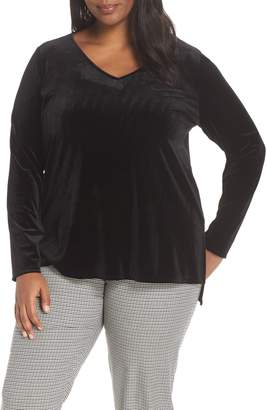 Halogen Velvet Tunic Top
