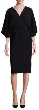 Theia Kimono Sleeve Dress $550 thestylecure.com