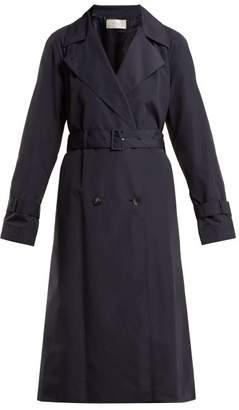 The Row Nueta Nylon Trench Coat - Womens - Navy