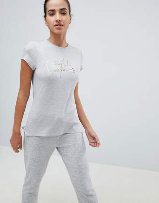 Ted Baker Drop Ted Gorgeous Slogan Tee