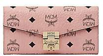MCM Women's Large Patricia Visetos Crossbody Wallet