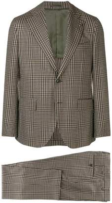 Gabriele Pasini two piece checked suit