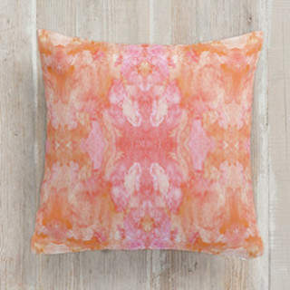 Simply Sorbet Self-Launch Square Pillows