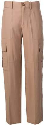 Vince wide leg cargo trousers