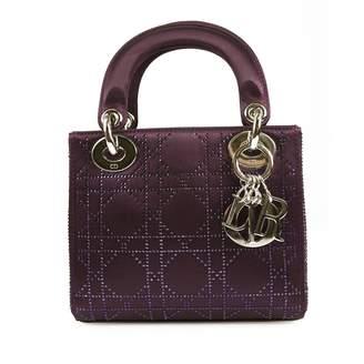 Christian Dior Lady cloth mini bag