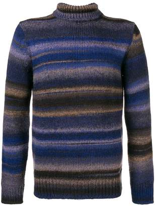 Altea striped roll neck sweater