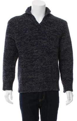 Dries Van Noten Speckled Wool Sweater