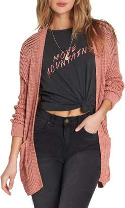 Billabong Laid Back Cotton Cardigan