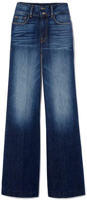 Goop x Frame Slim Palazzo Flare Jeans