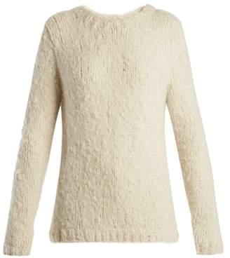 Gabriela Hearst Luiz Round Neck Cashmere Sweater - Womens - Ivory