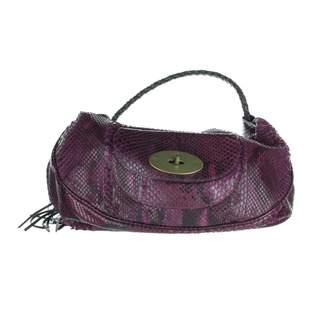 0e3bda69a4 Mulberry Purple Python Handbag