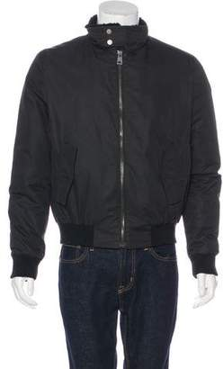 Yves Salomon Fur-Trimmed Bomber Jacket