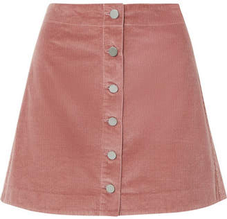 Elizabeth and James Prewitt Cotton-corduroy Mini Skirt - Pink