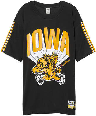 Tailgate PINK University Of Iowa Oversized Tee