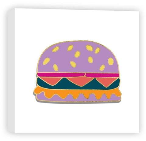 Kid Burger Decorative Canvas Wall Art 16
