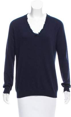 Tomas Maier Cashmere Long Sleeve Sweater