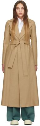 Harris Wharf London Tan Long Duster Coat