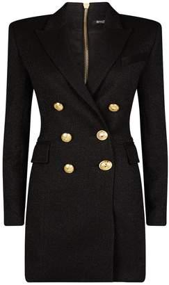Balmain Double-Breasted Jacket Dress