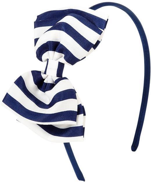 Old Navy Girls Striped Bow-Tie Headbands