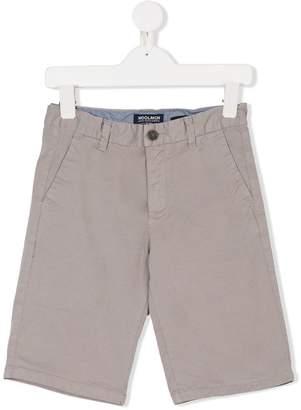 Woolrich Kids classic chino shorts