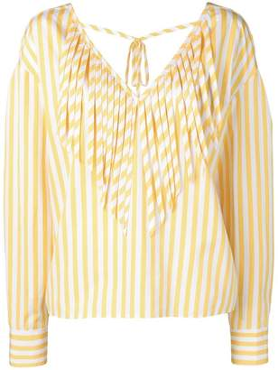 MSGM striped blouse