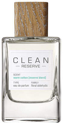 CLEAN Reserve Blend Warm Cotton Eau de Parfum, 3.4 oz./ 100 mL