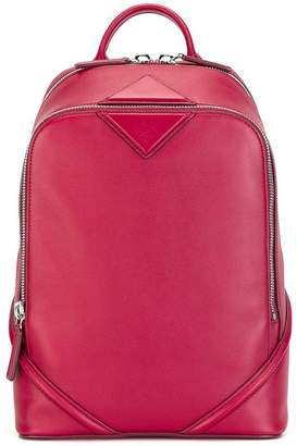 MCM zip up backpack