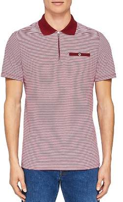 Ted Baker Whippet Flat Knit Collar Regular Fit Polo