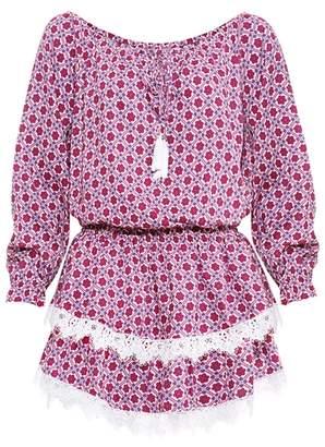 DAY Birger et Mikkelsen Paolita Mojave Printed Short Dress Multi-coloured