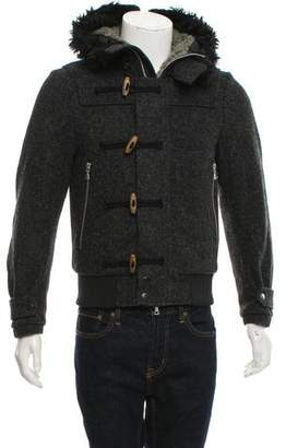 Dries Van Noten Hooded Toggle Jacket