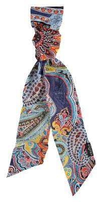 Fraas Casbah Paisley Long and Skinny Scarf