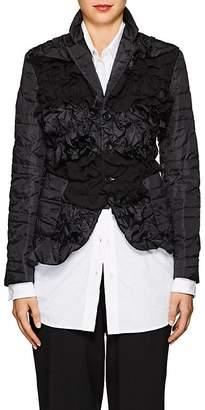 Comme des Garcons Women's Ruffled Tech-Fabric Jacket
